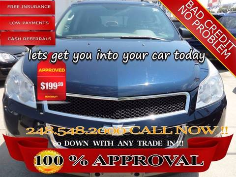2011 Chevrolet Traverse for sale in Hazel Park, MI