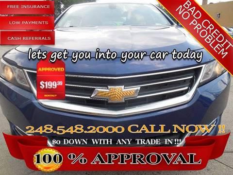 2014 Chevrolet Impala for sale in Hazel Park, MI