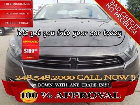 2016 Dodge Dart for sale in Hazel Park, MI