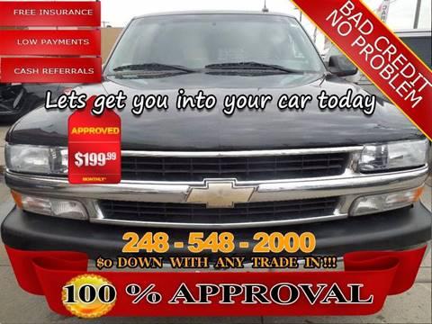 2003 Chevrolet Suburban for sale in Hazel Park, MI