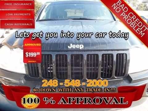 2007 Jeep Grand Cherokee for sale in Hazel Park, MI