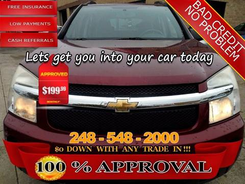 2008 Chevrolet Equinox for sale in Hazel Park, MI