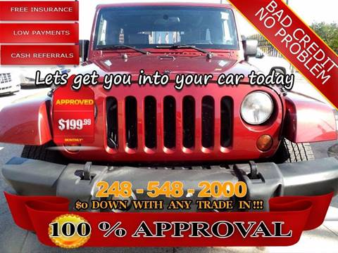 2007 Jeep Wrangler Unlimited for sale in Hazel Park, MI