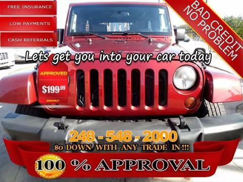 2007 Jeep Wrangler Unlimited for sale in Hazel Park, MI