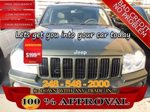 2006 Jeep Grand Cherokee for sale in Hazel Park, MI