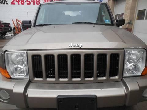 2006 Jeep Commander for sale in Hazel Park, MI