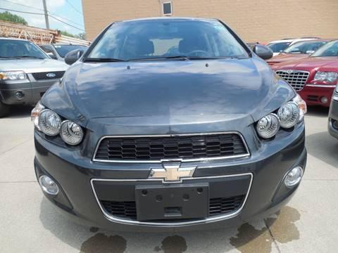 2016 Chevrolet Sonic for sale in Hazel Park, MI