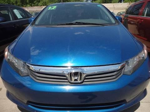 2012 Honda Civic for sale in Hazel Park, MI