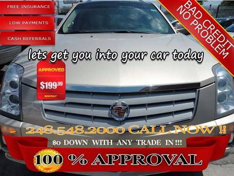 2008 Cadillac SRX for sale in Hazel Park, MI