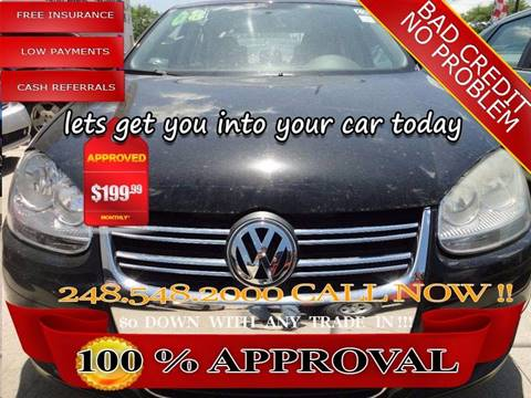 2008 Volkswagen Jetta for sale in Hazel Park, MI