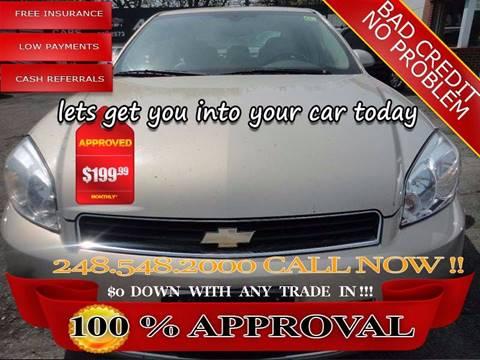 2008 Chevrolet Impala for sale in Hazel Park, MI