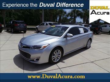 2014 Toyota Avalon for sale in Jacksonville, FL