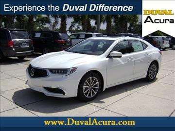2018 Acura TLX for sale in Jacksonville, FL
