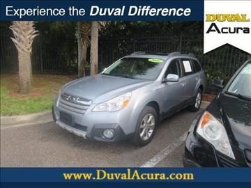 2014 Subaru Outback for sale in Jacksonville, FL