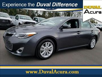 2015 Toyota Avalon for sale in Jacksonville, FL
