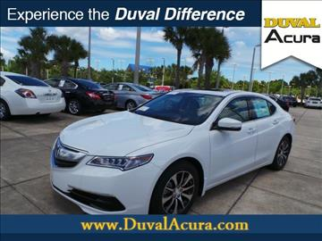 2017 Acura TLX for sale in Jacksonville, FL