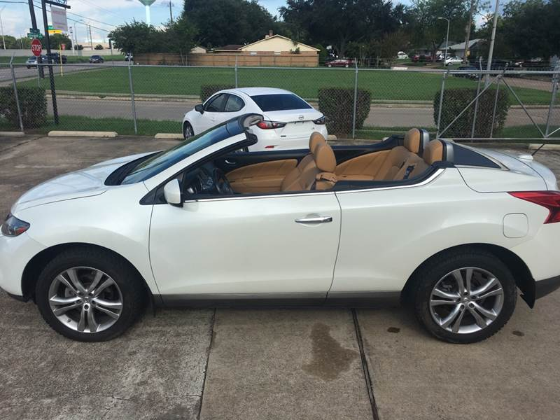 2011 Nissan Murano CrossCabriolet For Sale At Fund Auto Sales In Houston TX