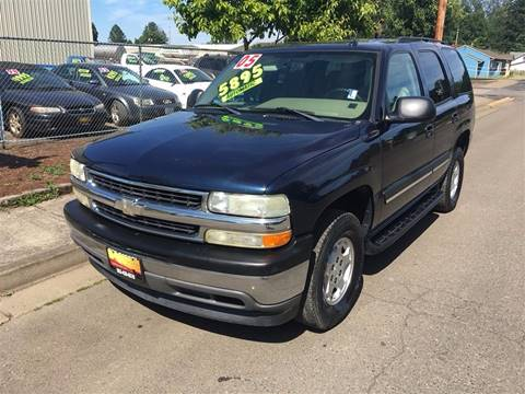 2005 Chevrolet Tahoe for sale at Car Safari LLC in Independence OR