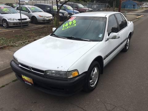 1991 Honda Accord for sale at Car Safari LLC in Independence OR