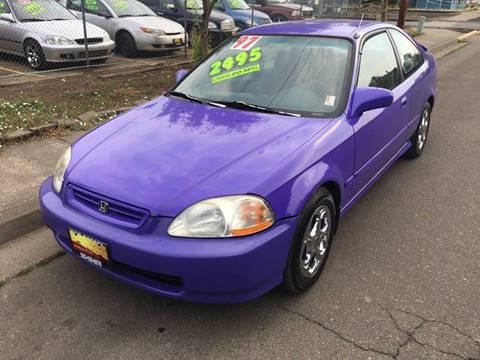 1997 Honda Civic for sale at Car Safari LLC in Independence OR