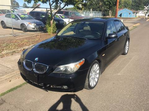 2005 BMW 5 Series for sale at Car Safari LLC in Independence OR