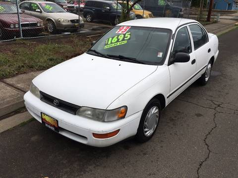 1993 Toyota Corolla for sale at Car Safari LLC in Independence OR