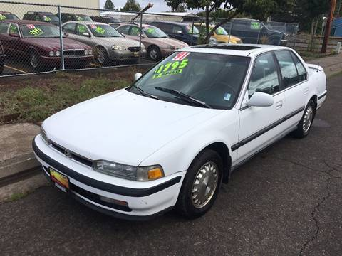 1991 Honda Accord for sale in Independence, OR