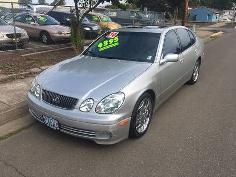 2004 Lexus GS 300 for sale at Car Safari LLC in Independence OR