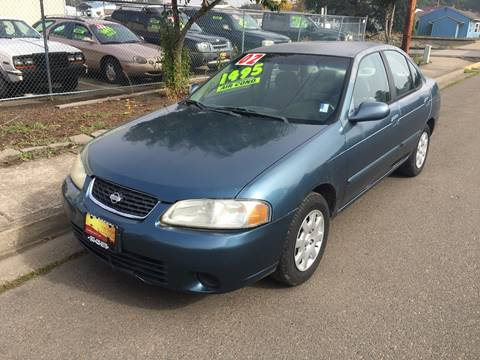 2002 Nissan Sentra for sale in Independence, OR
