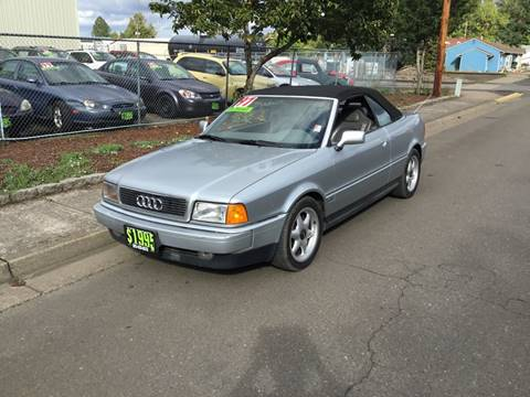 1997 Audi Cabriolet for sale in Independence, OR