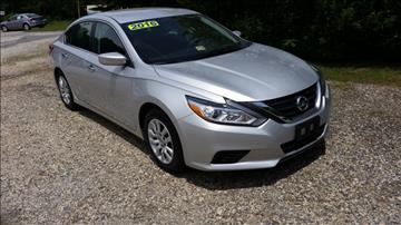 2016 Nissan Altima for sale in Amherst, VA