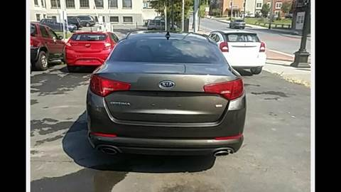2011 Kia Optima for sale at Eastside Auto Sales Inc in Troy NY
