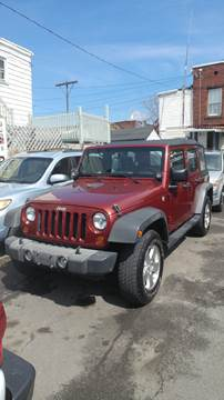 2010 Jeep Wrangler Unlimited for sale at Eastside Auto Sales Inc in Troy NY