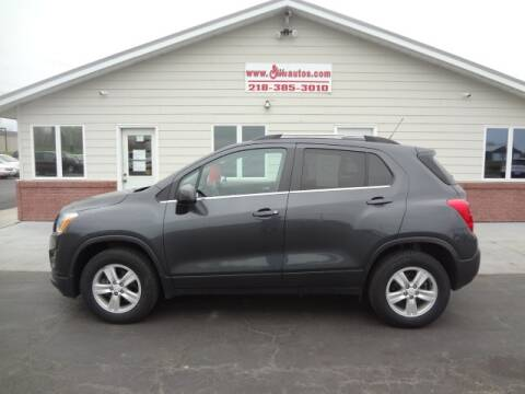 2016 Chevrolet Trax for sale at GIBB'S 10 SALES LLC in New York Mills MN