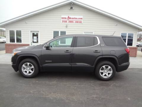 2017 GMC Acadia for sale at GIBB'S 10 SALES LLC in New York Mills MN