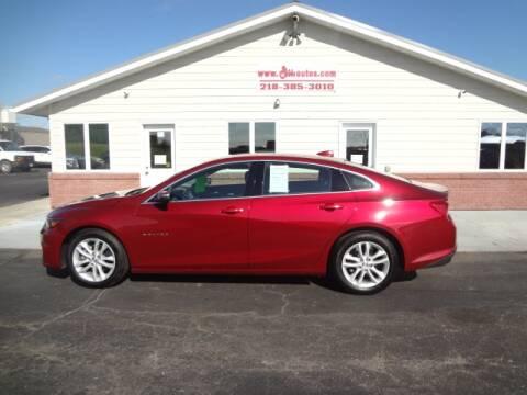 2018 Chevrolet Malibu for sale at GIBB'S 10 SALES LLC in New York Mills MN