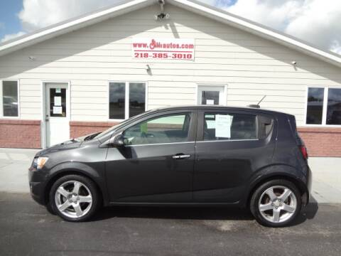 2015 Chevrolet Sonic for sale at GIBB'S 10 SALES LLC in New York Mills MN