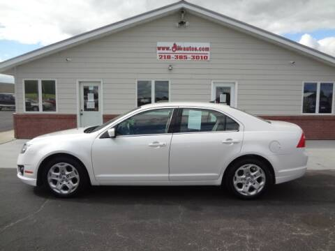 2010 Ford Fusion for sale at GIBB'S 10 SALES LLC in New York Mills MN