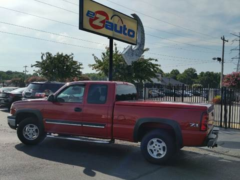 2004 Chevrolet Silverado 1500 for sale at E-Z Auto, Inc. in Memphis TN