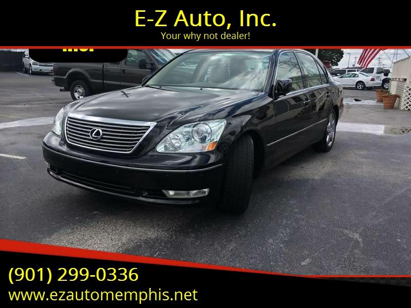 2005 Lexus LS 430 For Sale At E Z Auto, Inc. In Memphis TN