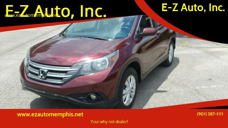2012 Honda CR V For Sale At E Z Auto, Inc. In Memphis TN