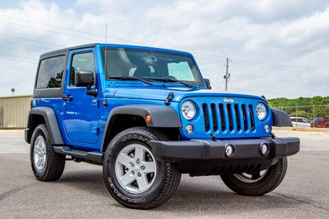 2016 Jeep Wrangler for sale in Memphis, TN