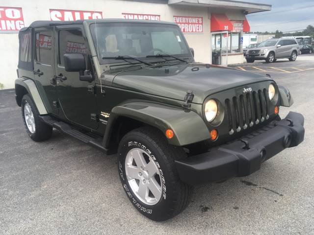 2007 Jeep Wrangler Unlimited Sahara In Worcester Ma Lord