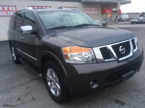 2011 Nissan Armada for sale in Worcester, MA