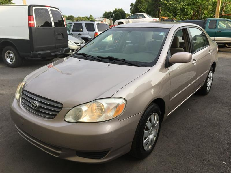 2003 Toyota Corolla For Sale At South Bow Auto LLC In Milford MA