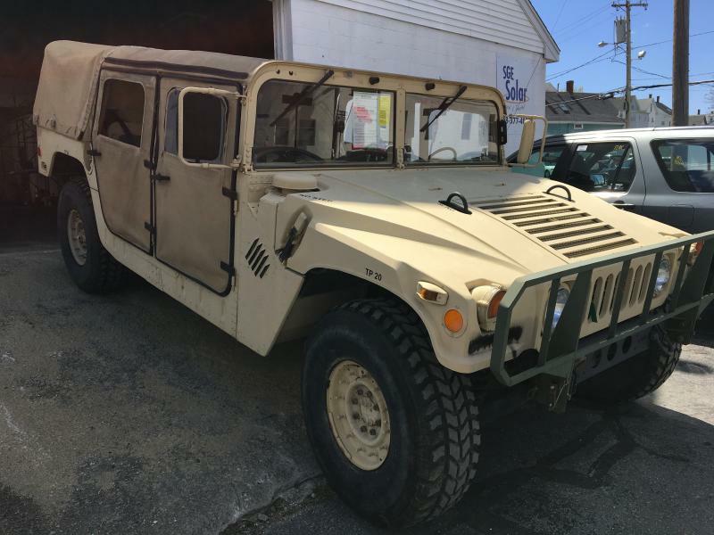 1987 AM GENERAL M998 HUMVEE In Milford MA - South Bow Auto LLC