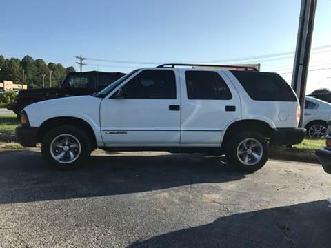 1996 Chevrolet Blazer for sale in Lenoir, NC