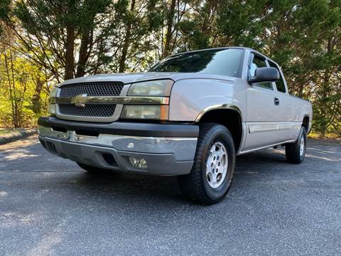 2004 Chevrolet Silverado 1500 for sale at Lenoir Auto in Lenoir NC