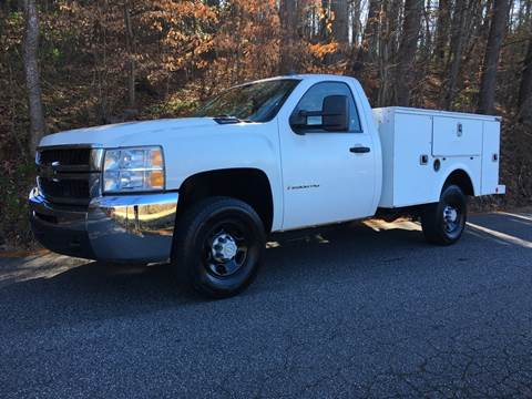 2007 Chevrolet Silverado 2500HD for sale at Lenoir Auto in Lenoir NC