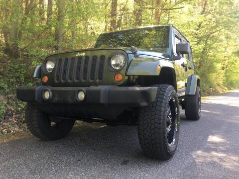2007 Jeep Wrangler Unlimited for sale at Lenoir Auto in Lenoir NC